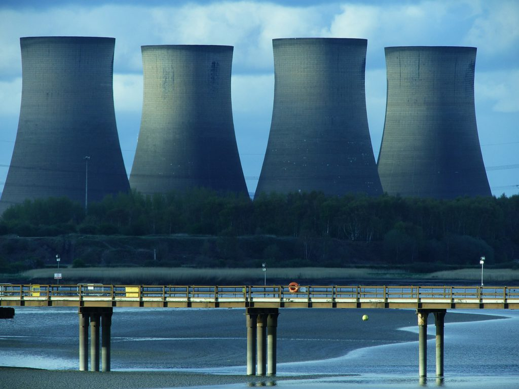 cooling tower, power plant, energy